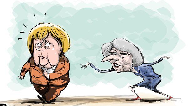 Hello, Frau Merkel - Sputnik Polska