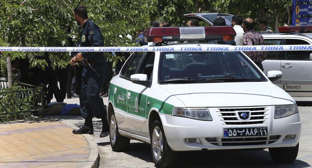 Irańska policja