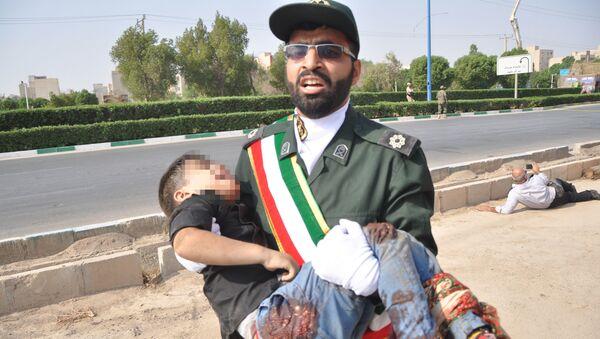 Zamach podczas parady wojskowej w mieście Ahwaz w południowo-zachodnim Iranie - Sputnik Polska