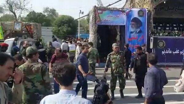 Ситуация в иранском городе Ахваз, где во время военного парада произошел теракт - Sputnik Polska