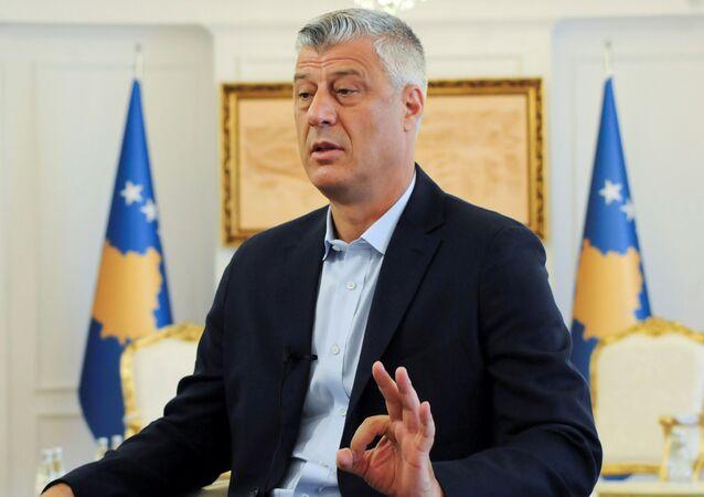 Prezydent Kosowa Hashim Thaçi