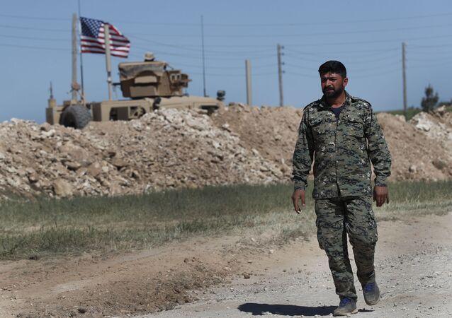 Żołnierz USA w Syrii