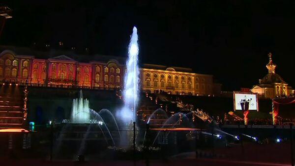 Ceremonia zamknięcia fontann w Peterhofie - Sputnik Polska