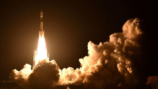 Start rakiety H2B z kosmodromu Tanegashima. Japonia - Sputnik Polska