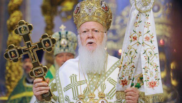 Patriarcha Konstantynopolski Bartłomiej - Sputnik Polska