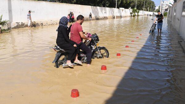 Powódź w Tunezji - Sputnik Polska