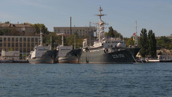 Okręt zwiadowczy projektu 864 SSV-201 Priazowje - Sputnik Polska
