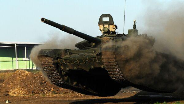 Rosyjski czołg T-72B3. Zdjęcie archiwalne - Sputnik Polska