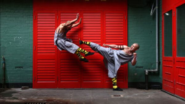 Mnisi z Shaolin w Chinatown w Londynie - Sputnik Polska
