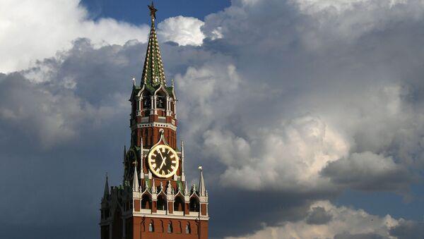 Baszta Spasska Kremla w Moskwie - Sputnik Polska
