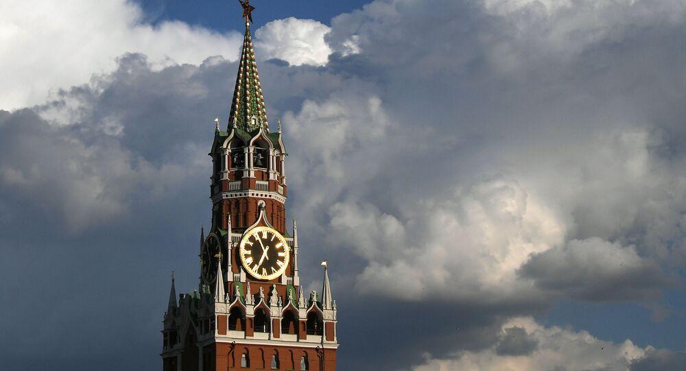 Baszta Spasska Kremla w Moskwie
