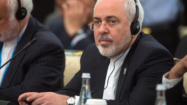 Minister spraw zagranicznych Islamskiej Republiki Iranu Mohammad Dżawad Zarif - Sputnik Polska