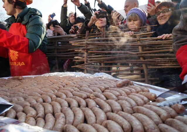 Święto kiełbasy w Kaliningradzie