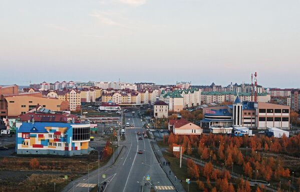 Nowa dzielnica w Salechardzie - Sputnik Polska