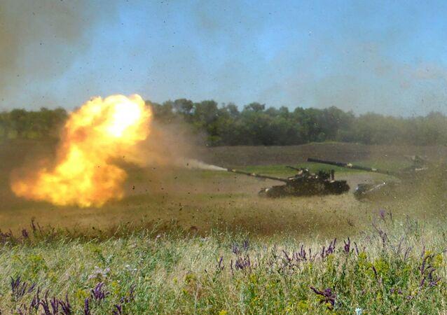 Strategiczne ćwiczenia dowódczo-sztabowe Kozacka Wola 2018 na Ukrainie
