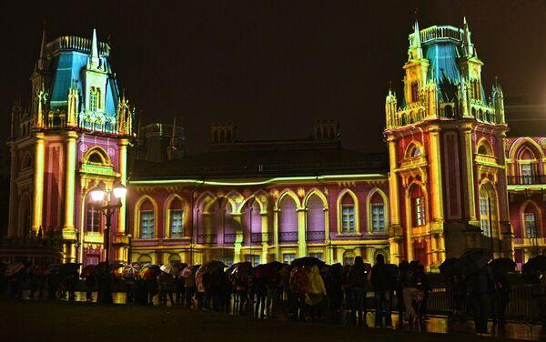 Festiwal Krąg Światła w Moskwie - Sputnik Polska
