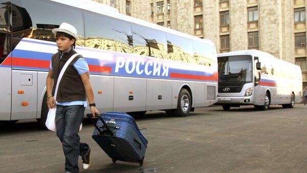 Rosyjskie autobusy - Sputnik Polska