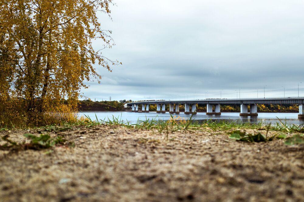 Rzeka Kama w Kraju Permskim