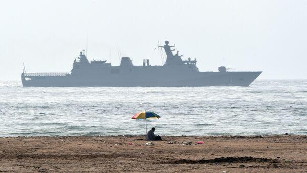 Okręt patrolowy marynarki wojennej Maroka - Sputnik Polska