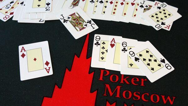 Poker sportowy w szkole pokera PokerMoscow - Sputnik Polska