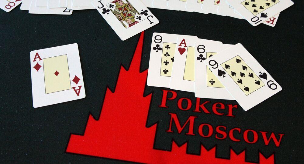 Poker sportowy w szkole pokera PokerMoscow