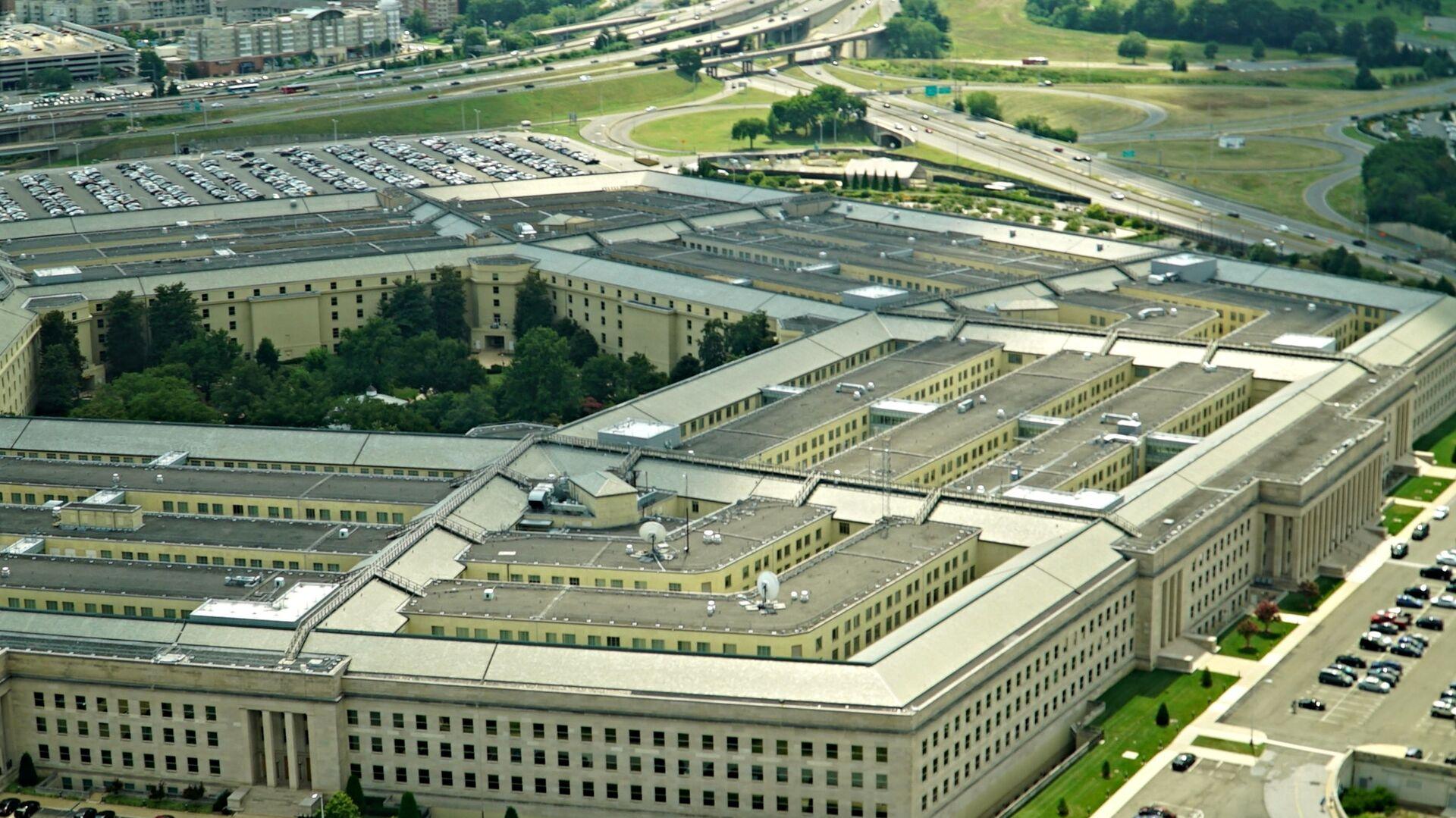 Budynek Pentagonu w amerykańskim okręgu Arlington - Sputnik Polska, 1920, 02.07.2021