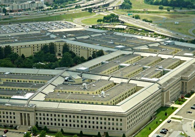 Budynek Pentagonu w amerykańskim okręgu Arlington