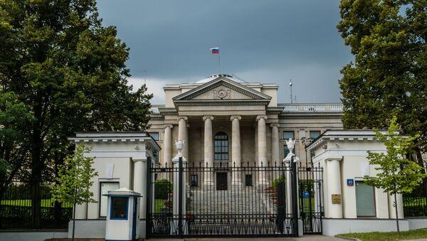 Ambasada Federacji Rosyjskiej w Warszawie - Sputnik Polska