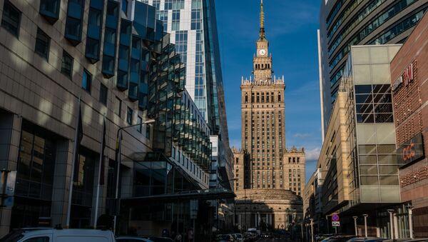 Pałac Kultury i Nauki w Warszawie. - Sputnik Polska