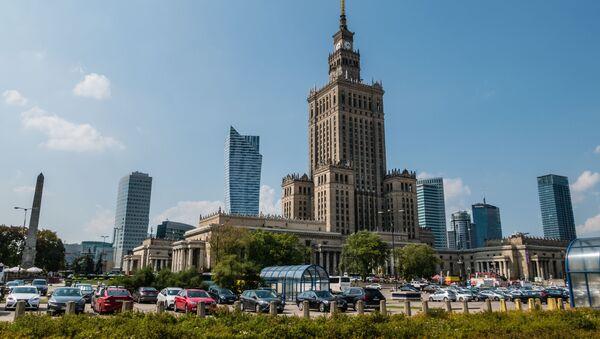 Warszawa Śródmieście. - Sputnik Polska