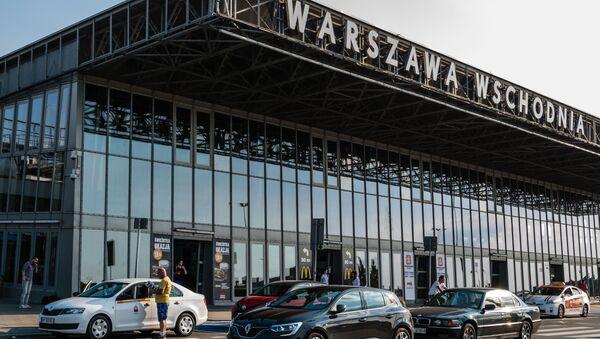 Dworzec Warszawa Wschodnia. - Sputnik Polska