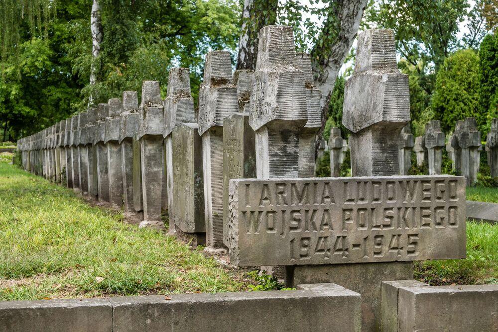 Cmentarz Wojskowy na Powązkach. Warszawa.