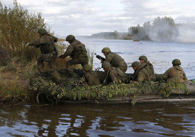 98 dywizja powietrznodesantowa na manewrach wojskowych w obwodzie kostromskim