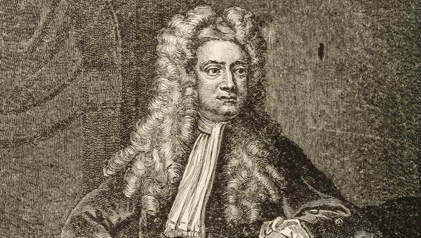 Angielski fizyk, matematyk, mechanik i astronom sir Isaak Newton - Sputnik Polska