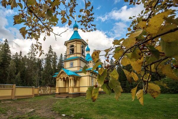 Świątynia na wyspie Wałaam - Sputnik Polska