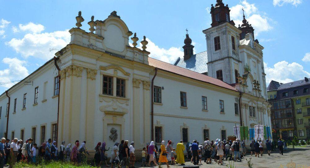 Cerkiew w miejscowoci Bohorodczany