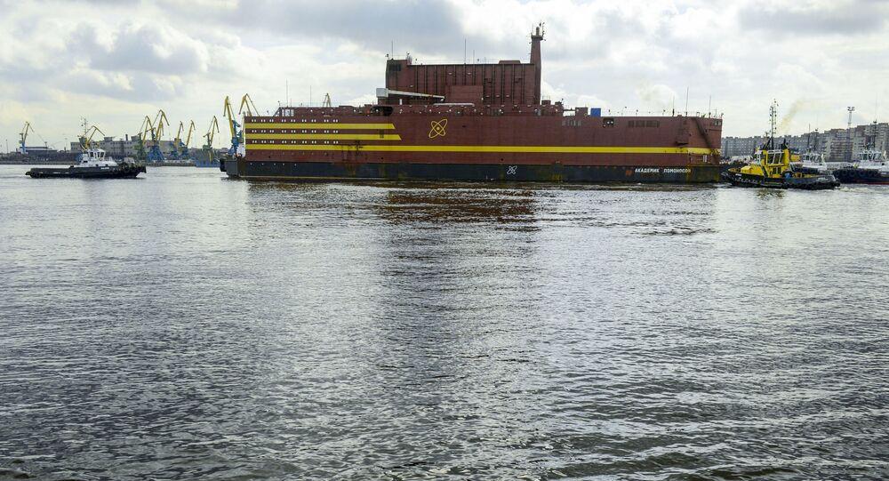 Pływająca elektrownia atomowa Akademik Łomonosow