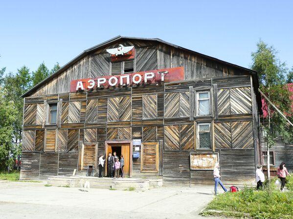 Lotnisko Turuchańsk we wschodniej Syberii - Sputnik Polska