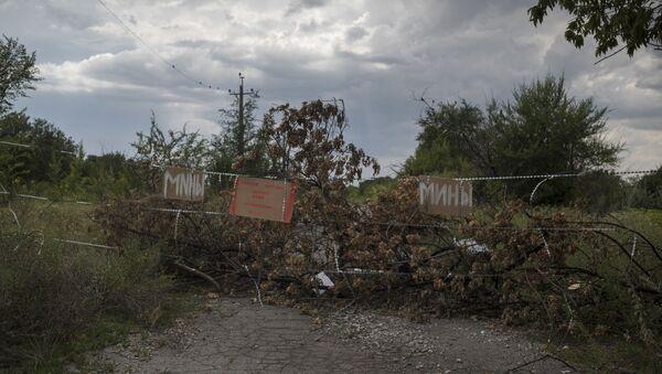 Troje dzieci zginęło, a jedno zostało ciężko ranne w wybuchu miny w Gorłówce - Sputnik Polska