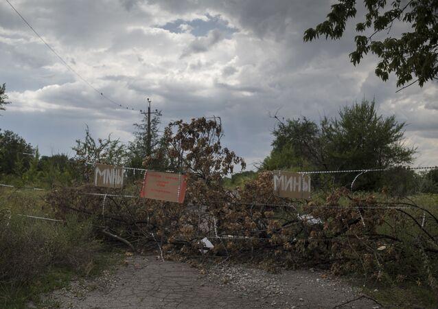 Troje dzieci zginęło, a jedno zostało ciężko ranne w wybuchu miny w Gorłówce
