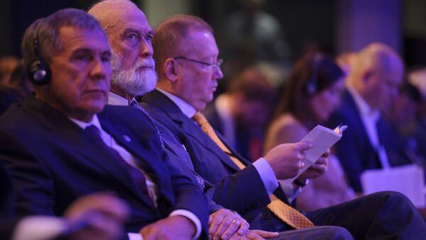 Książę Michał z Kentu na Rosyjsko-brytyjskim Forum biznesowym - Sputnik Polska
