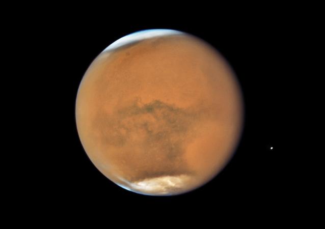 Zdjęcie Marsa zrobione przez teleskop Hubble'a