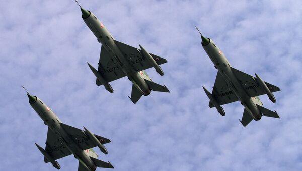 Indyjskie myśliwce radzieckiej produkcji MiG-21 - Sputnik Polska