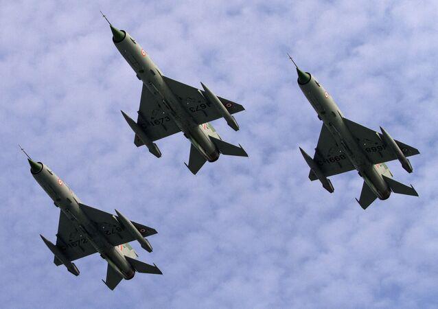 Indyjskie myśliwce radzieckiej produkcji MiG-21