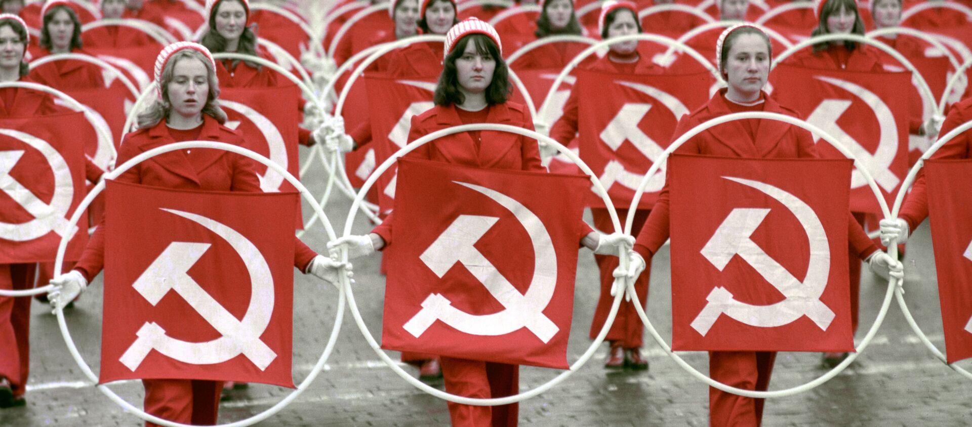 Rocznica rewolucji październikowej, ZSRR - Sputnik Polska, 1920, 05.06.2021