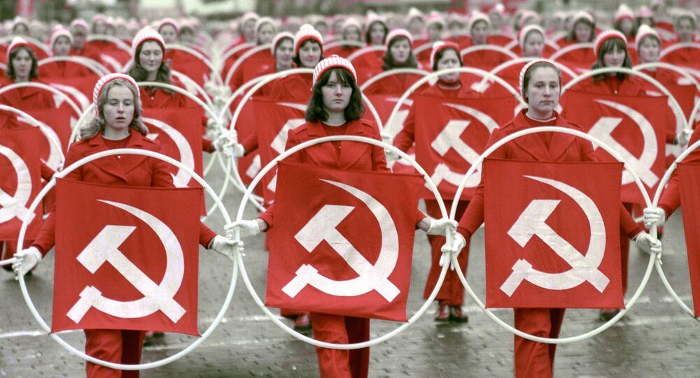 Rocznica rewolucji październikowej, ZSRR