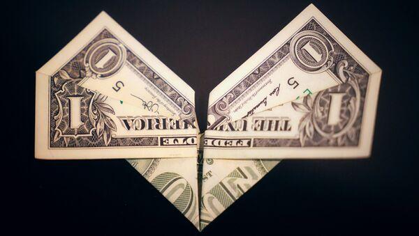Wystawa Origami o wartości 100 dolarów w Petersburgu - Sputnik Polska