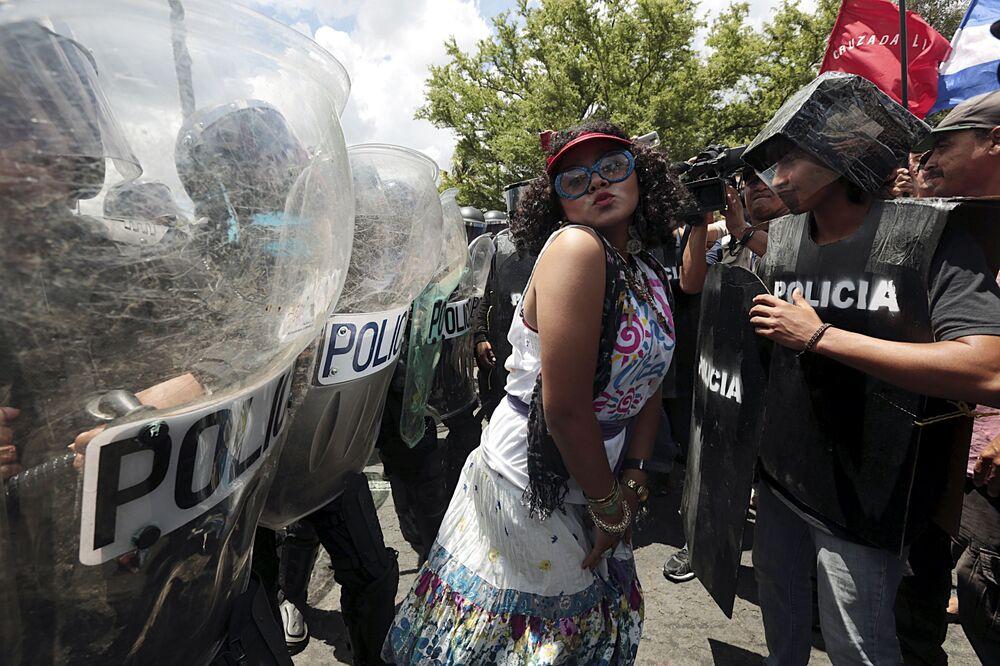 Akcja protestacyjna, Nicaragua