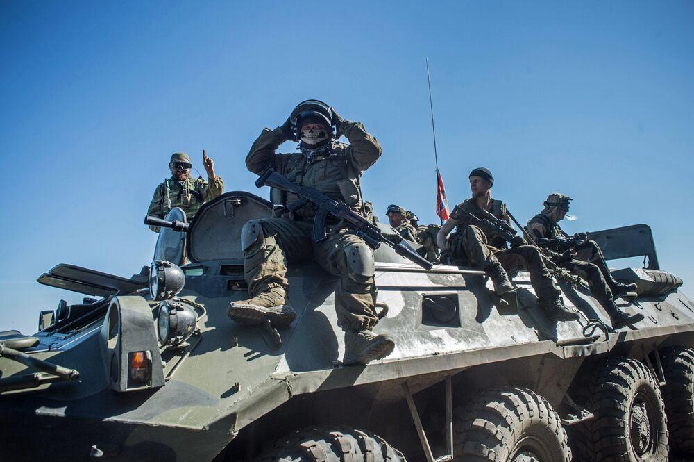 Żołnierze batalionu Wikingi, DRL
