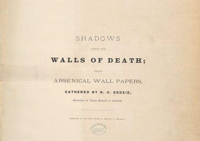Okładka śmiertelnie niebezpiecznej książki Shadows from the Walls of Death